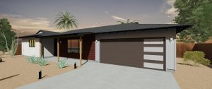 scottsdale modern carport garage conversion